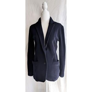 JCrew Wool Navy Cardigan with Pockets